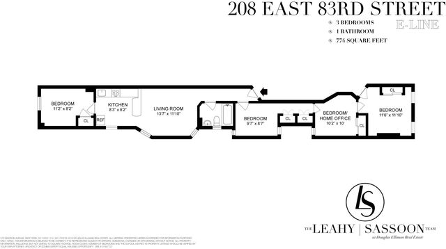 3 Bedrooms, Yorkville Rental in NYC for $3,950 - Photo 2