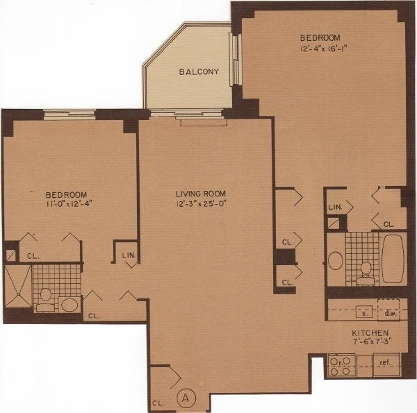 2 Bedrooms, Rose Hill Rental in NYC for $6,200 - Photo 2