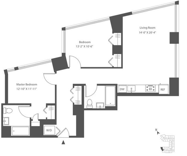 2 Bedrooms, Astoria Rental in NYC for $4,246 - Photo 2