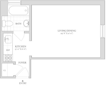 Studio, West Village Rental in NYC for $2,860 - Photo 2