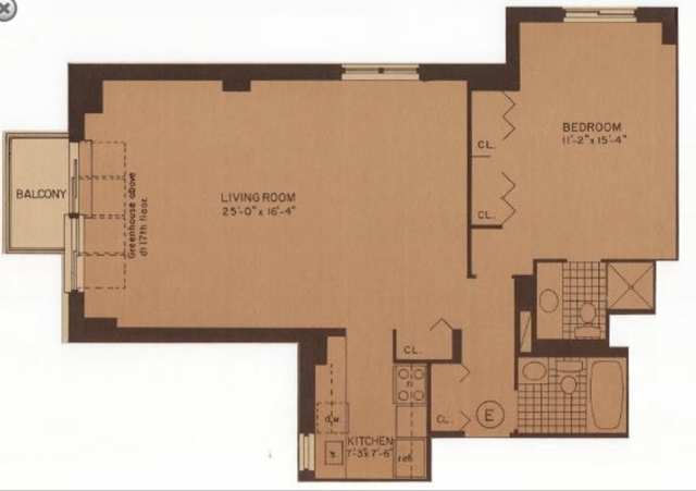 1 Bedroom, Rose Hill Rental in NYC for $5,695 - Photo 2