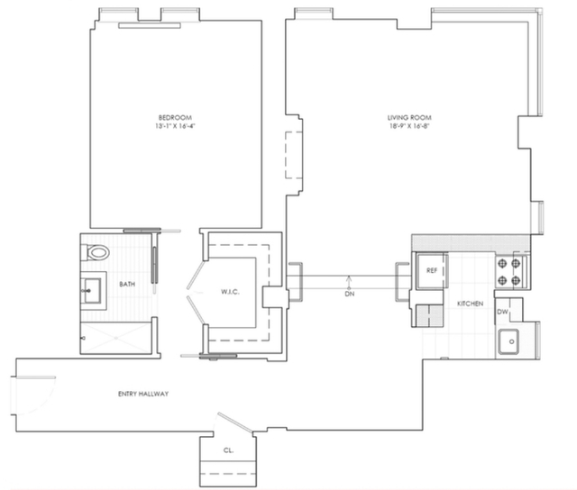 1 Bedroom, Sutton Place Rental in NYC for $5,195 - Photo 2