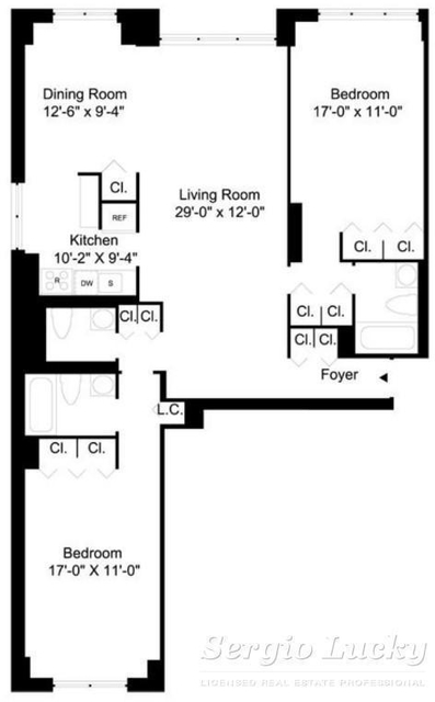 3 Bedrooms, Turtle Bay Rental in NYC for $5,800 - Photo 1