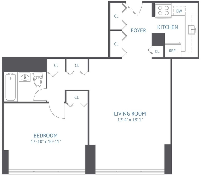 1 Bedroom, Upper West Side Rental in NYC for $3,595 - Photo 2