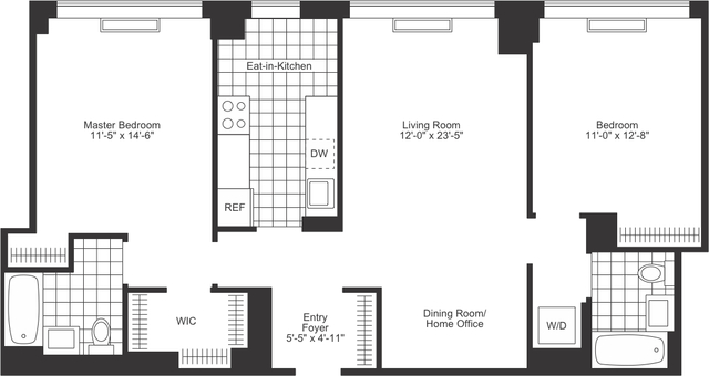 2 Bedrooms, Chelsea Rental in NYC for $10,085 - Photo 2