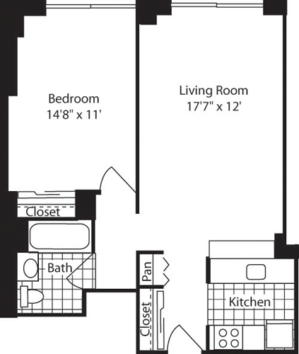 1 Bedroom, West Village Rental in NYC for $5,291 - Photo 2