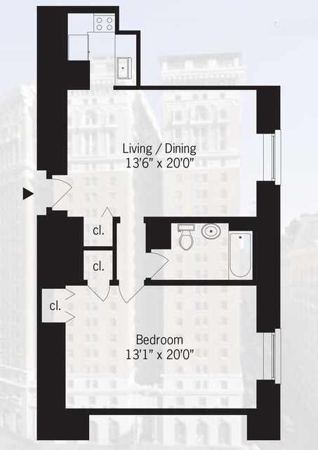1 Bedroom, Koreatown Rental in NYC for $3,450 - Photo 2