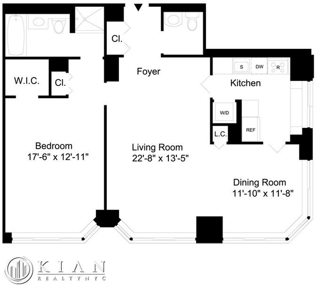 1 Bedroom, Lincoln Square Rental in NYC for $8,095 - Photo 2