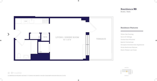 Studio, Lower East Side Rental in NYC for $3,253 - Photo 2