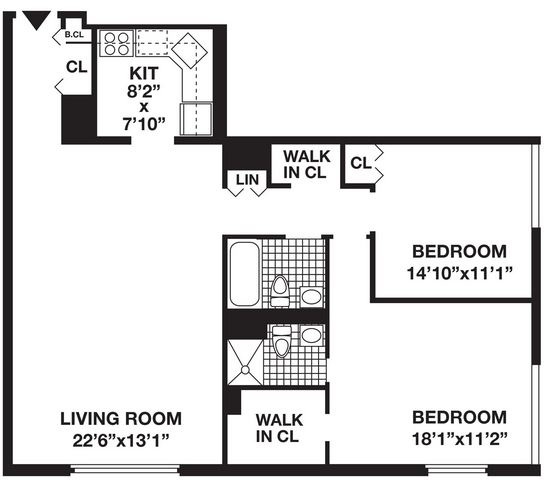 2 Bedrooms, Battery Park City Rental in NYC for $6,230 - Photo 1