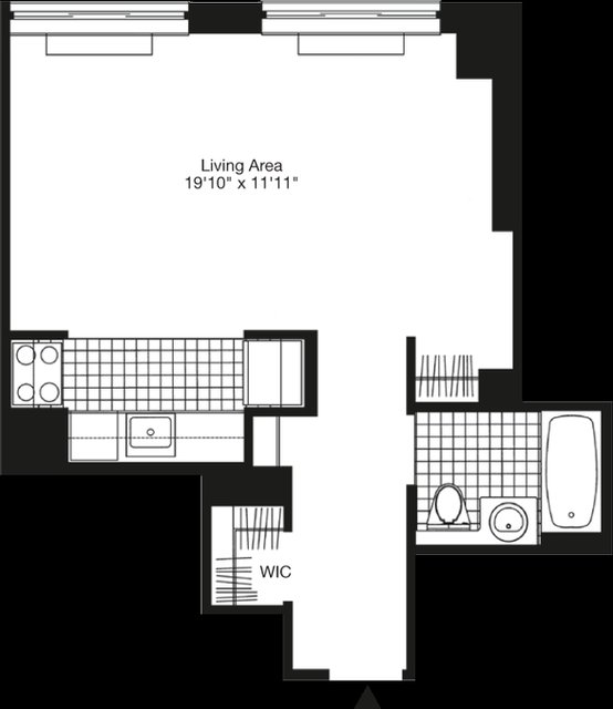 Studio, Hell's Kitchen Rental in NYC for $2,745 - Photo 2
