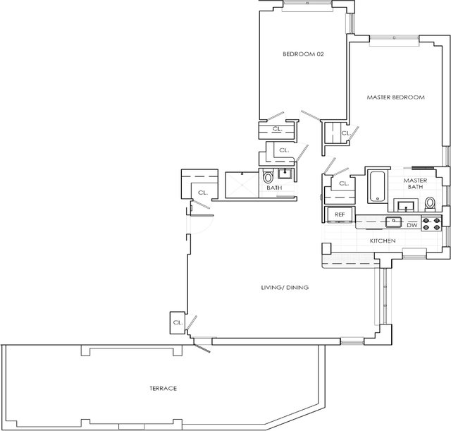 2 Bedrooms, Murray Hill Rental in NYC for $7,448 - Photo 2