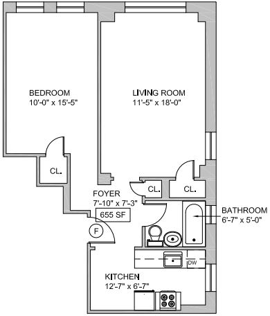1 Bedroom, Greenwich Village Rental in NYC for $4,285 - Photo 2