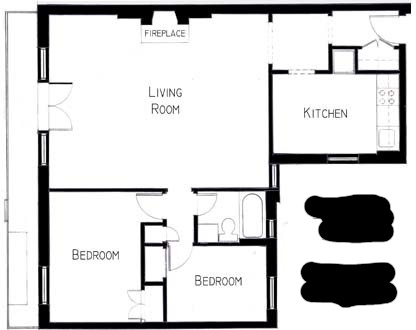 2 Bedrooms, West Village Rental in NYC for $5,295 - Photo 2