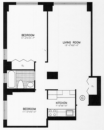 2 Bedrooms, Upper East Side Rental in NYC for $4,659 - Photo 2