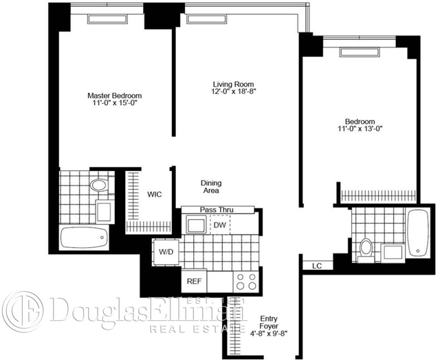 2 Bedrooms, Chelsea Rental in NYC for $9,815 - Photo 2
