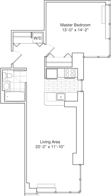 1 Bedroom, Chelsea Rental in NYC for $4,699 - Photo 2