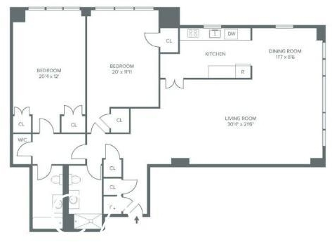 2 Bedrooms, Rose Hill Rental in NYC for $6,195 - Photo 2