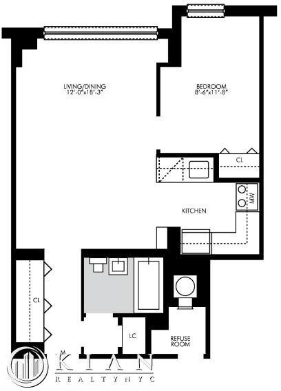 1 Bedroom, Kips Bay Rental in NYC for $3,695 - Photo 2