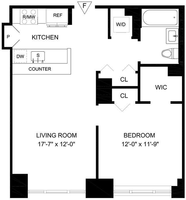 1 Bedroom, Lincoln Square Rental in NYC for $5,539 - Photo 2
