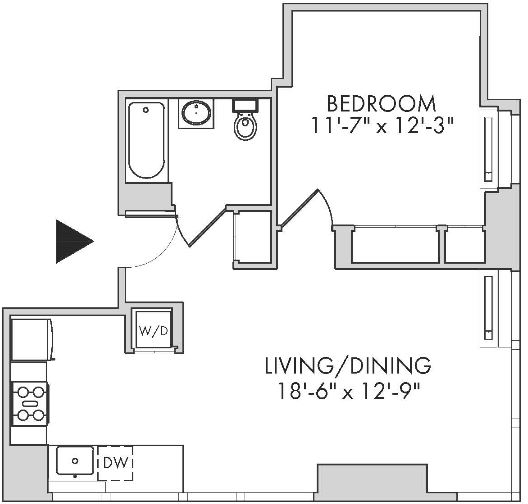 1 Bedroom, Chelsea Rental in NYC for $5,995 - Photo 1