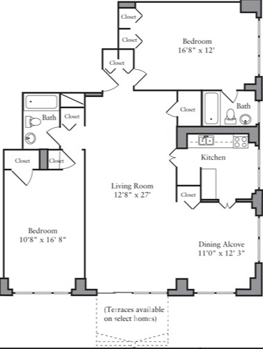 2 Bedrooms, Yorkville Rental in NYC for $6,095 - Photo 2
