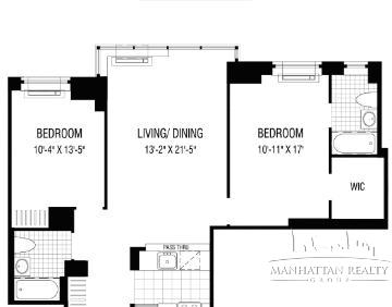 1 Bedroom, Financial District Rental in NYC for $5,300 - Photo 2