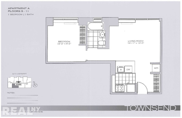 2 Bedrooms, Garment District Rental in NYC for $4,095 - Photo 2