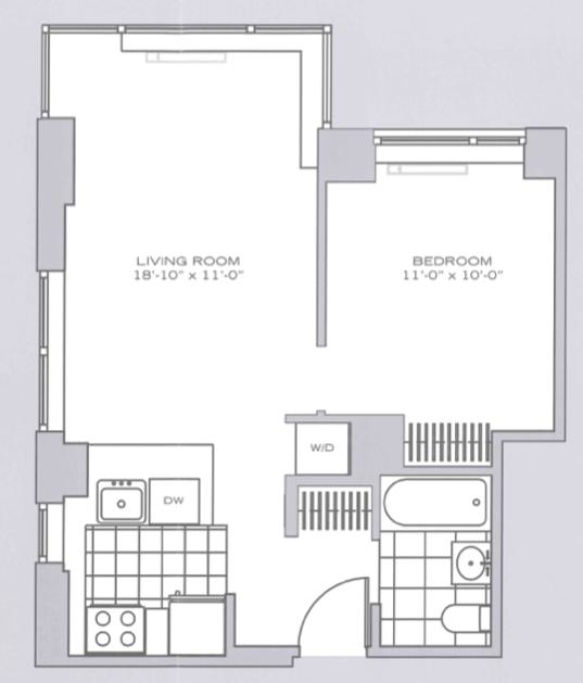 1 Bedroom, Garment District Rental in NYC for $4,095 - Photo 2