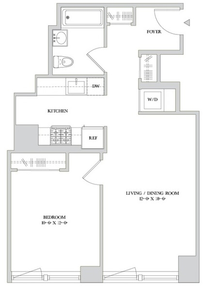 1 Bedroom, Hell's Kitchen Rental in NYC for $3,819 - Photo 2