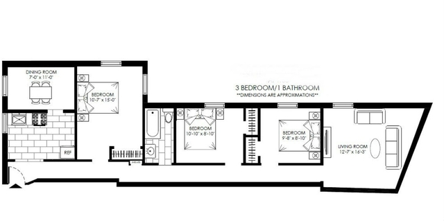 3 Bedrooms, Hudson Heights Rental in NYC for $3,295 - Photo 2