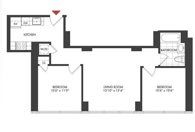 2 Bedrooms, Long Island City Rental in NYC for $3,857 - Photo 2