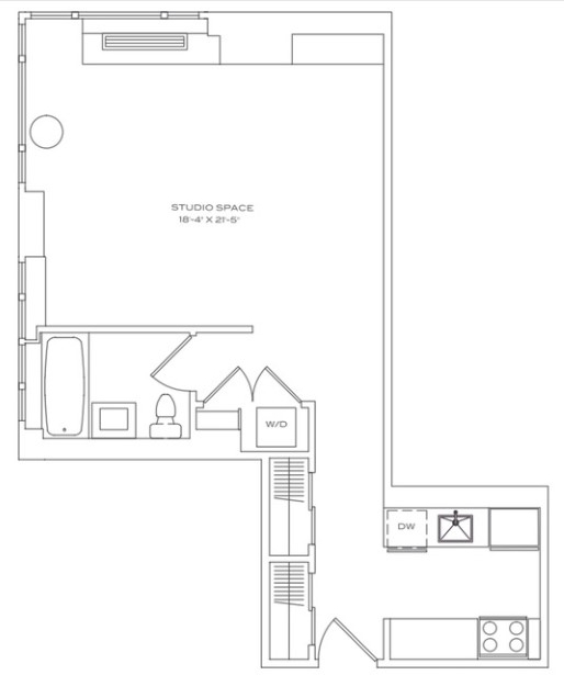 Studio, Lincoln Square Rental in NYC for $3,566 - Photo 2
