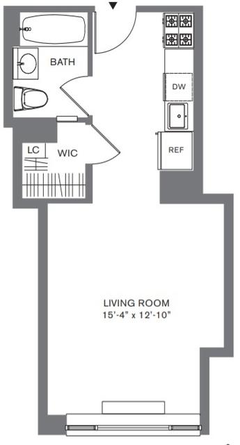 Studio, Tribeca Rental in NYC for $3,595 - Photo 2