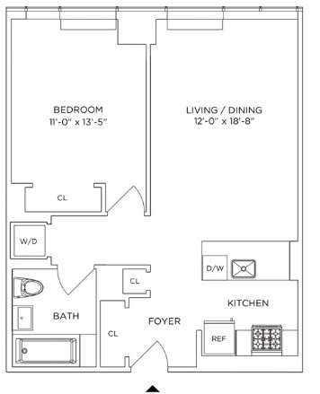 1 Bedroom, Downtown Brooklyn Rental in NYC for $3,588 - Photo 2