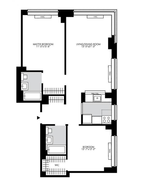 2 Bedrooms, Chelsea Rental in NYC for $6,590 - Photo 2