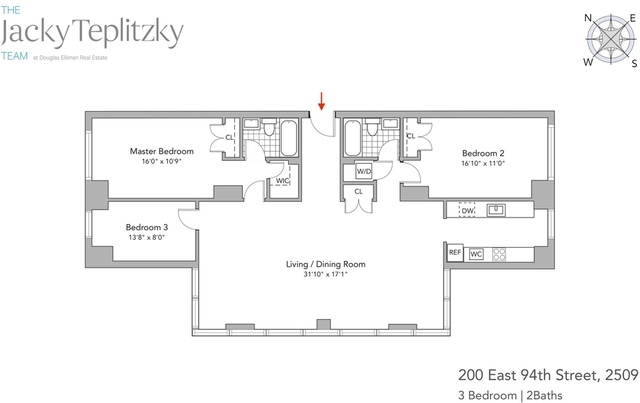 3 Bedrooms, Yorkville Rental in NYC for $10,950 - Photo 2