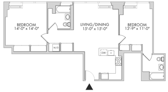 2 Bedrooms, Chelsea Rental in NYC for $7,895 - Photo 2