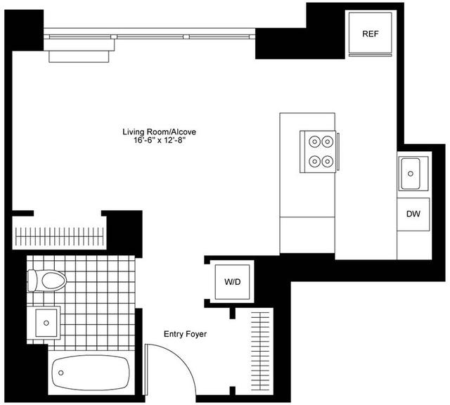 Roosevelt Island Apartments: Studio At Roosevelt Island, Manhattan For Posted Feb-23