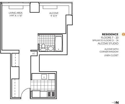 Studio, Theater District Rental in NYC for $3,295 - Photo 2
