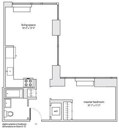 Studio, Downtown Brooklyn Rental in NYC for $3,450 - Photo 2