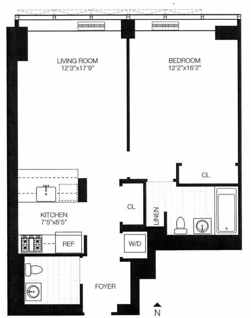 1 Bedroom, Sutton Place Rental in NYC for $4,800 - Photo 2