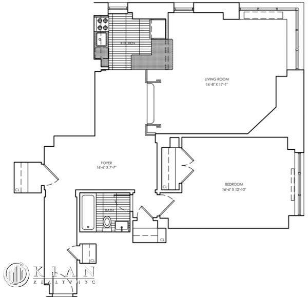1 Bedroom, Sutton Place Rental in NYC for $4,395 - Photo 2
