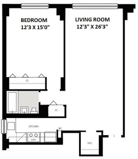 1 Bedroom, Kips Bay Rental in NYC for $3,995 - Photo 2