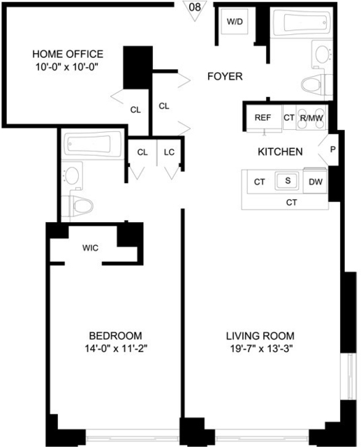 2 Bedrooms, Hudson Square Rental in NYC for $4,650 - Photo 2