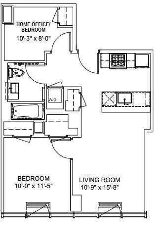 2 Bedrooms, Hell's Kitchen Rental in NYC for $3,988 - Photo 1