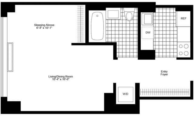 Studio, Chelsea Rental in NYC for $3,535 - Photo 2