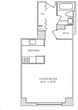 Studio, Yorkville Rental in NYC for $2,685 - Photo 2