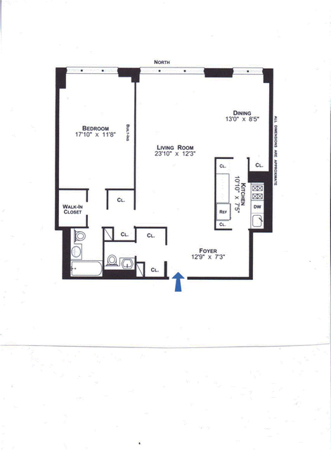 1 Bedroom, Lincoln Square Rental in NYC for $5,500 - Photo 2