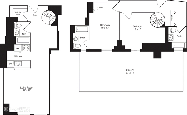 2 Bedrooms, Financial District Rental in NYC for $6,901 - Photo 2